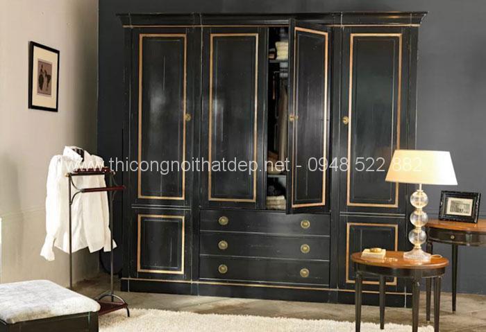 20 mẫu tủ quần áo gỗ đa năng cực đẹp không thể bỏ qua - 17