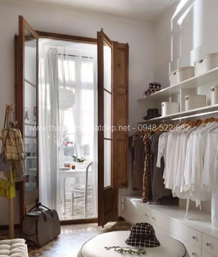 20 mẫu tủ quần áo gỗ đa năng cực đẹp không thể bỏ qua - 18
