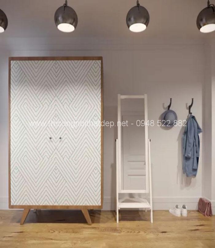 20 mẫu tủ quần áo gỗ đa năng cực đẹp không thể bỏ qua - 19