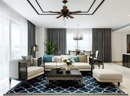 Mẫu thiết kế nội thất căn hộ chung cư Diamond Island rộng 150m² – Chị Ngân