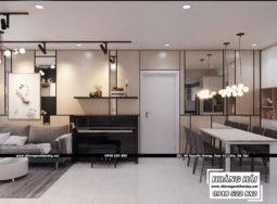 Dự án thiết kế nội thất chung cư cao cấp Vista Verde 80m2 – Chị Ái