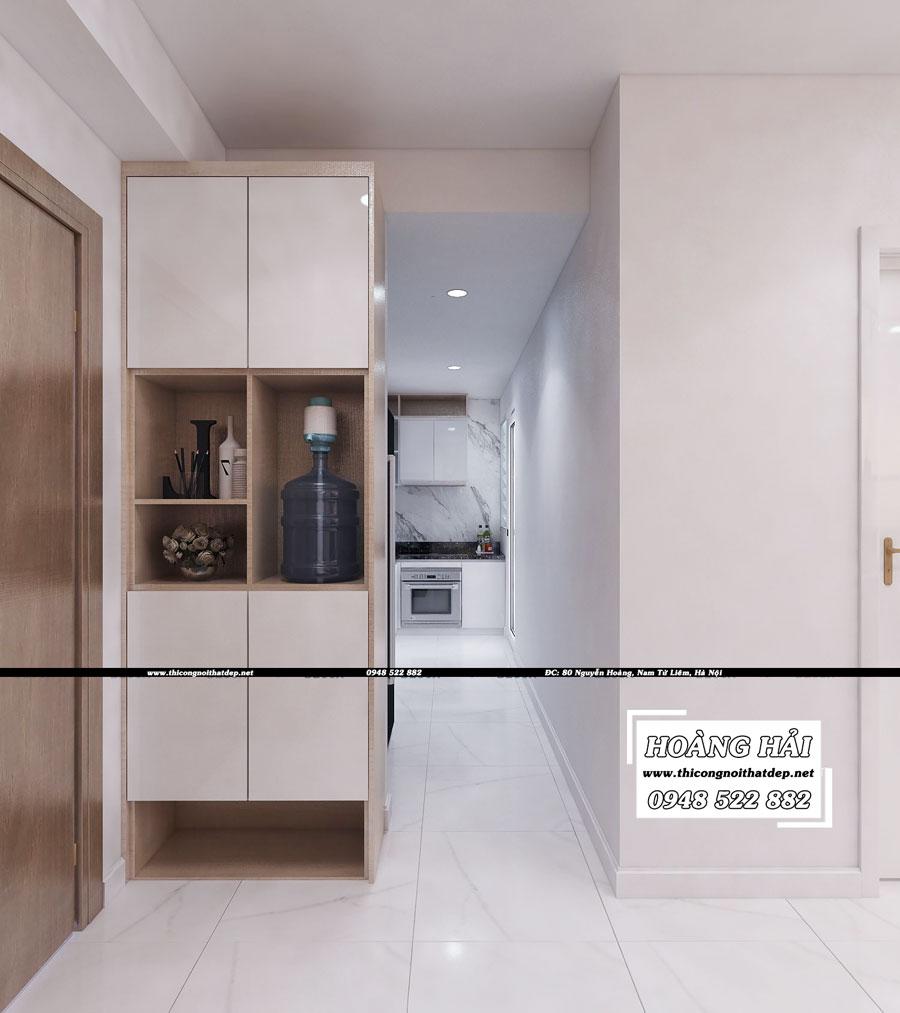 Dự án thiết kế nội thất phòng bếp chung cư cao cấp Vista Verde 80m2 - Chị Ái