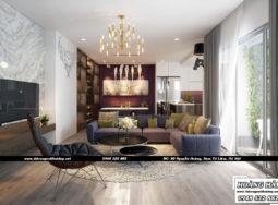 Dự án thiết kế căn hộ chung cư Ecolife Capitol 3 phòng ngủ