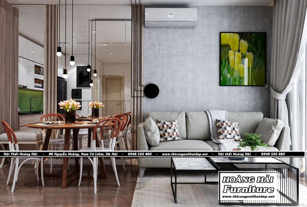 Nội thất phòng khách chung cư Grand Riverside