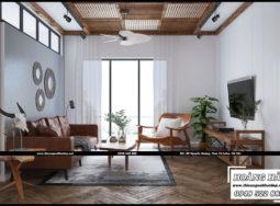 Mẫu thiết kế nội thất căn hộ chung cư 95.4m2 – The Botanica