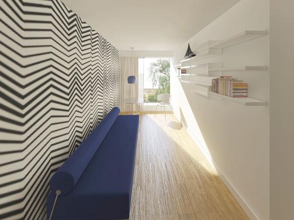 Mẫu thiết kế nội thất phòng đọc sách chung cư 70m2