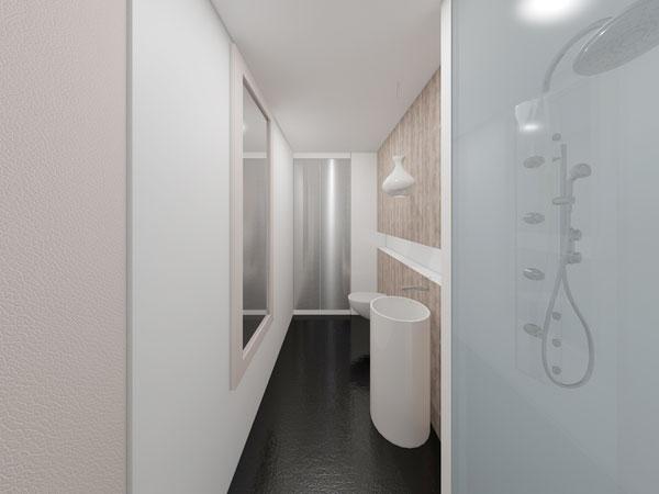 Mẫu thiết kế nội thất phòng vệ sinh chung cư 70m2