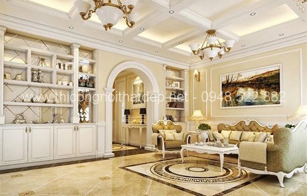 Phong cách thiết kế nội thất chung cư kiểu Pháp