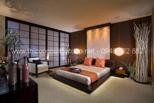 Phong cách thiết kế nội thất chung cư kiểu Nhật Bản