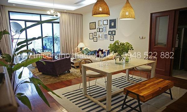Phong cách thiết kế nội thất chung cư hiện đại