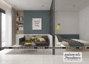 mẫu thiết kế nội thất chung cư 33m2