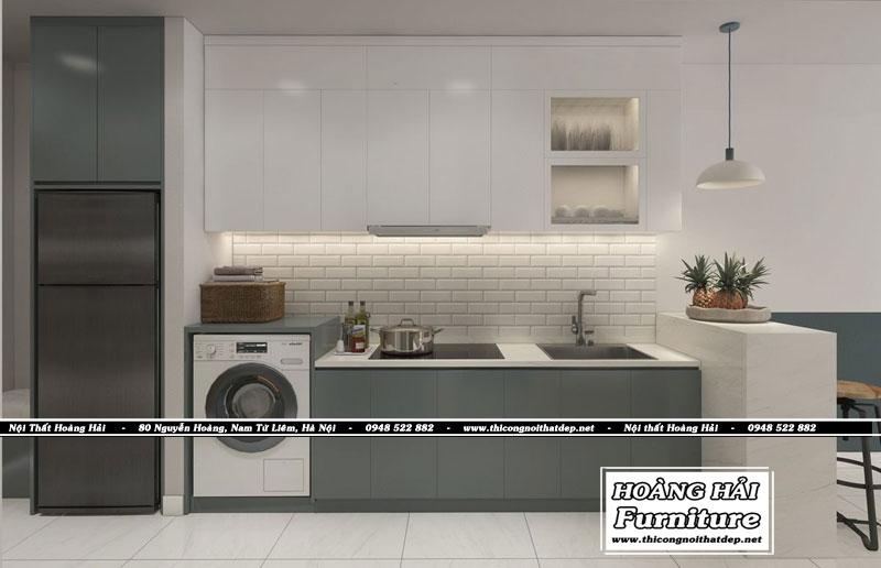 thiết kế nội thất chung cư 33m2