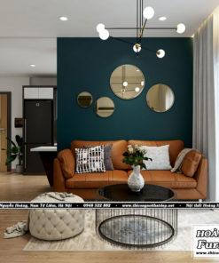thiết kế nội thất căn hộ XI Grand Court