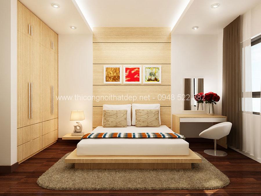 nội thất phòng ngủ chung cư 100m2