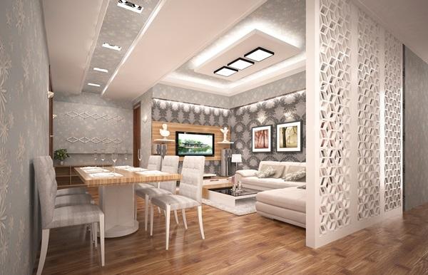 xu hướng thiết kế nội thất phòng khách đẹp