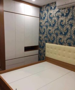 Công trình thi công nội thất phòng ngủ tại nhà Anh Khương