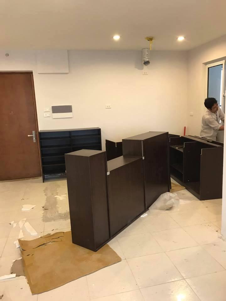 Công trình thi công nội thất nhà chị Thoa
