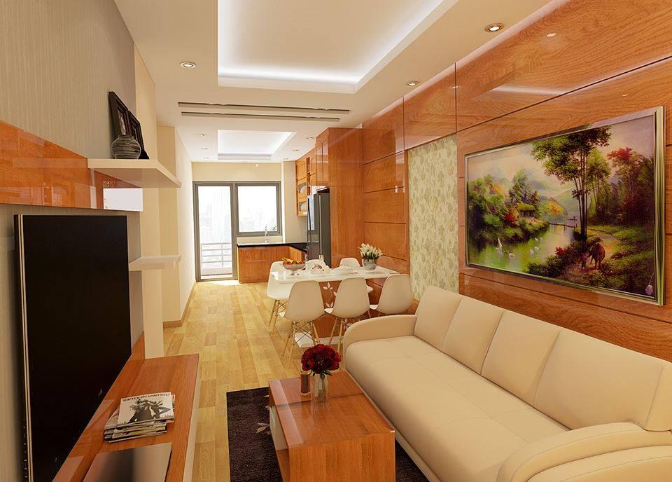Công trình thi công nội thất tại nhà anh Định