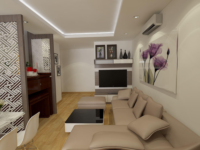 Công trình thi công nội thất nhà Anh Hòa