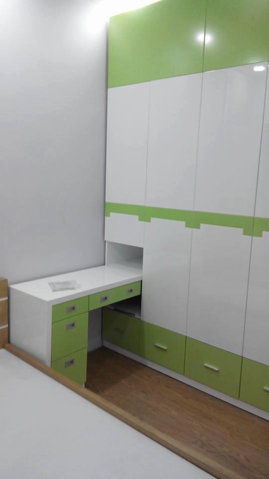 Công trình thi công tủ áo - tủ bếp nhà Chị Yến