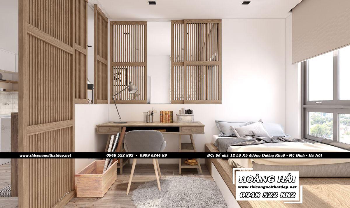 Dự ánthiết kế nội thất căn hộ Sunrise Riverside 65m2 - Anh Tính