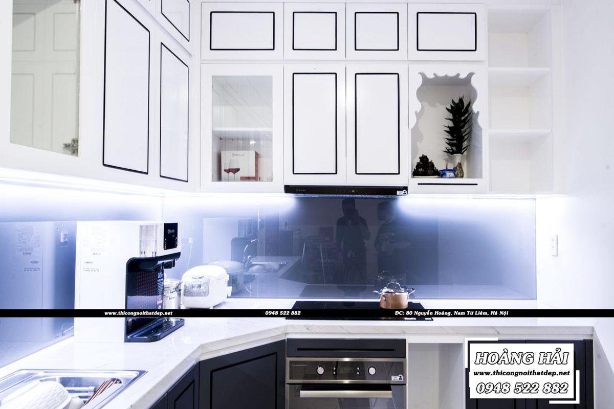 Thiết kế nội thất phòng bếp chung cư CityLand Park Hills