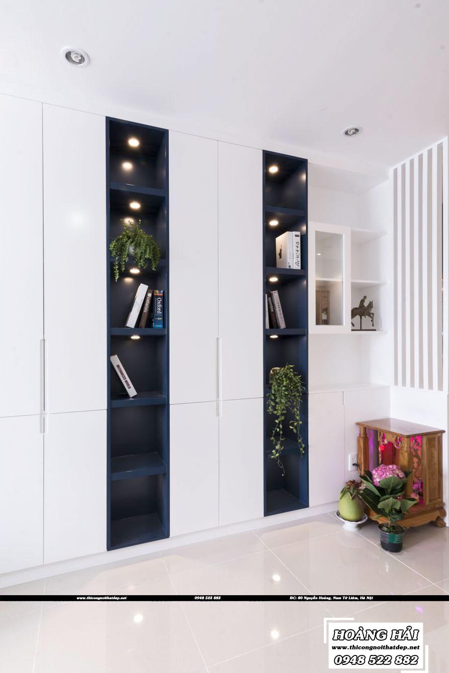 Thiết kế nội thất phòng ăn chung cư CityLand Park Hills
