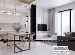 Dự án thiết kế nội thất căn hộ chung cư Estella Heights 82m2 – Anh Tiến