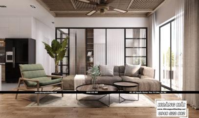 Dự án thiết kế nội thất căn hộ chung cư Botanica 97m2