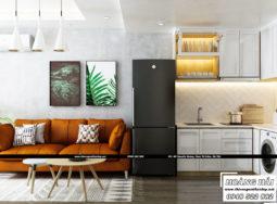 Dự án thiết kế nội thất căn hộ chung cư Everrich Infinity 36m2 cực đẹp – Anh Khoa