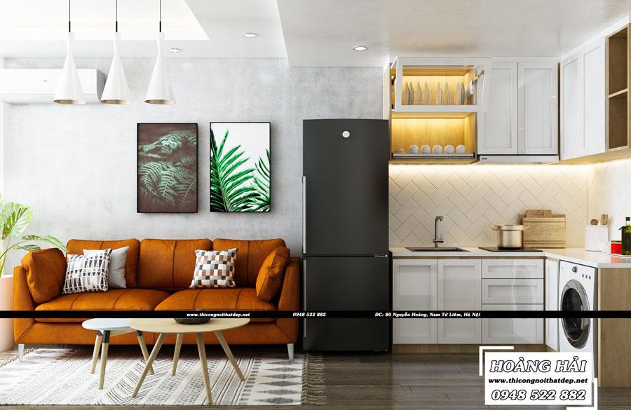 Dự án thiết kế căn hộ chung cư Everrich Infinity 36m2 cực đẹp - Anh Khoa