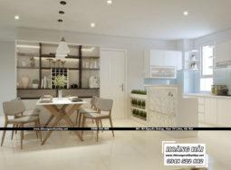 Tham khảo dự án thiết kế nội thất chung cư Melody Residences cực đẹp tại Hoàng Hải