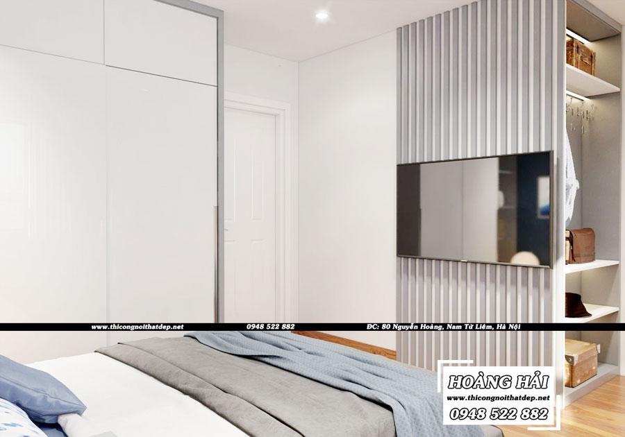 dự án thiết kế nội thất phòng ngủ chung cư Melody Residences