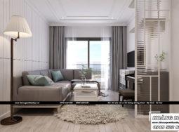 Dự án thiết kế nội thất chung cư Richstar 77m2 – chị Hằng