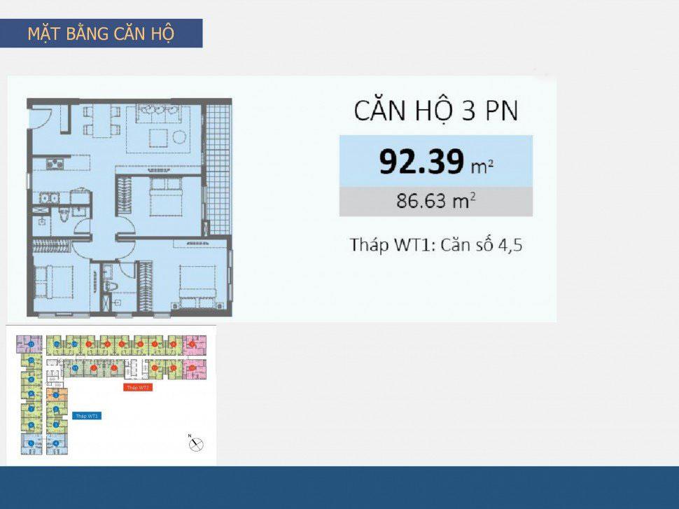 sơ đồ dự án thiết kế nội thất căn hộ chung cư Wilton Tower - Anh Khang
