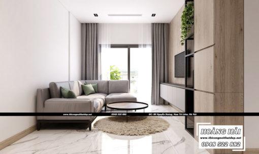 dự án thiết kế nội thất căn hộ chung cư Wilton Tower - Anh Khang