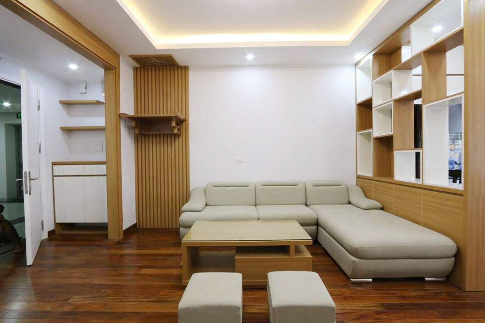 Thiết kế thi công nội thất chung cư 70m2 với kinh phí 200 triệu đồng