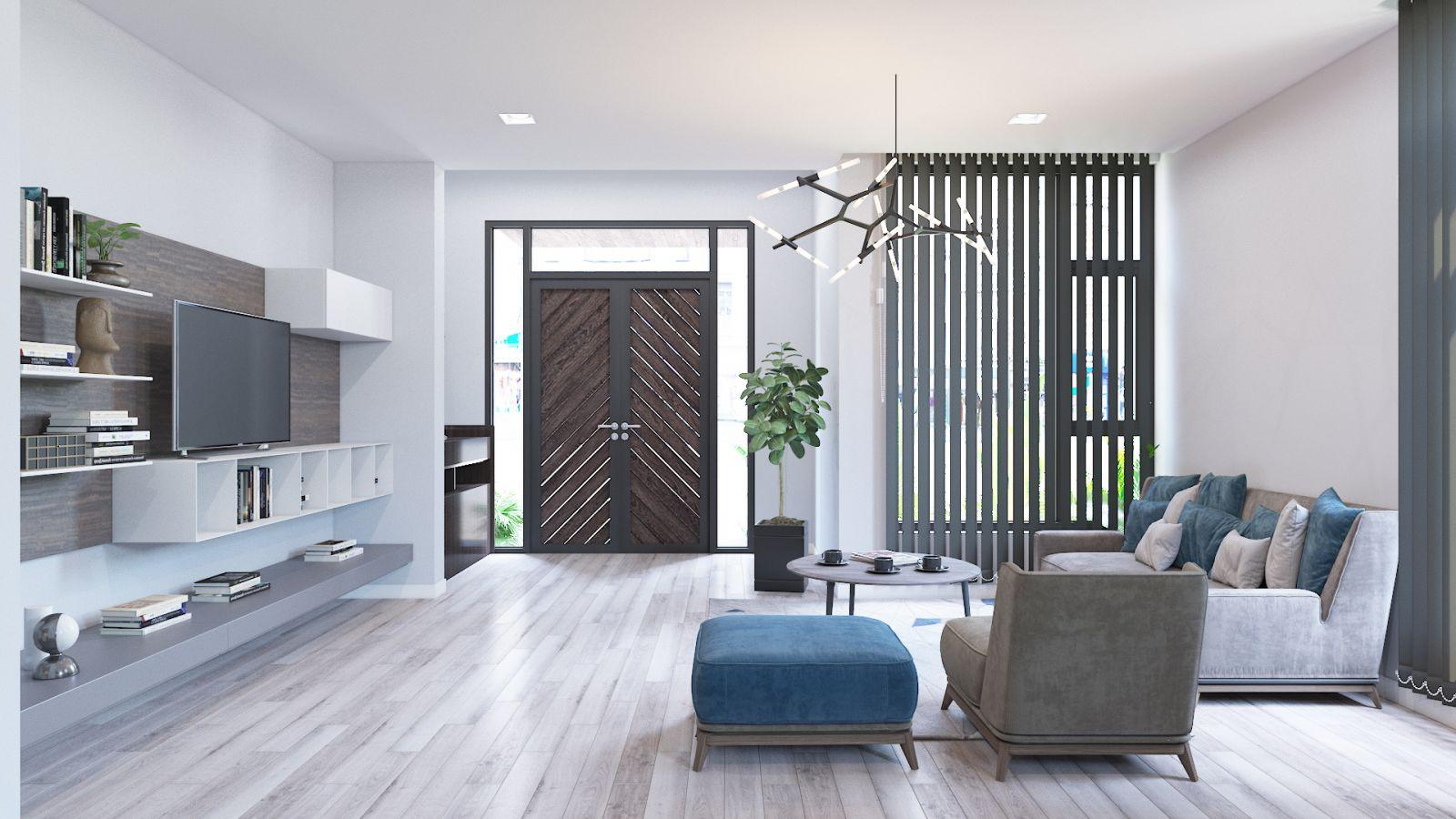 thiết kế nội thất chung cư Iris Garden Tower