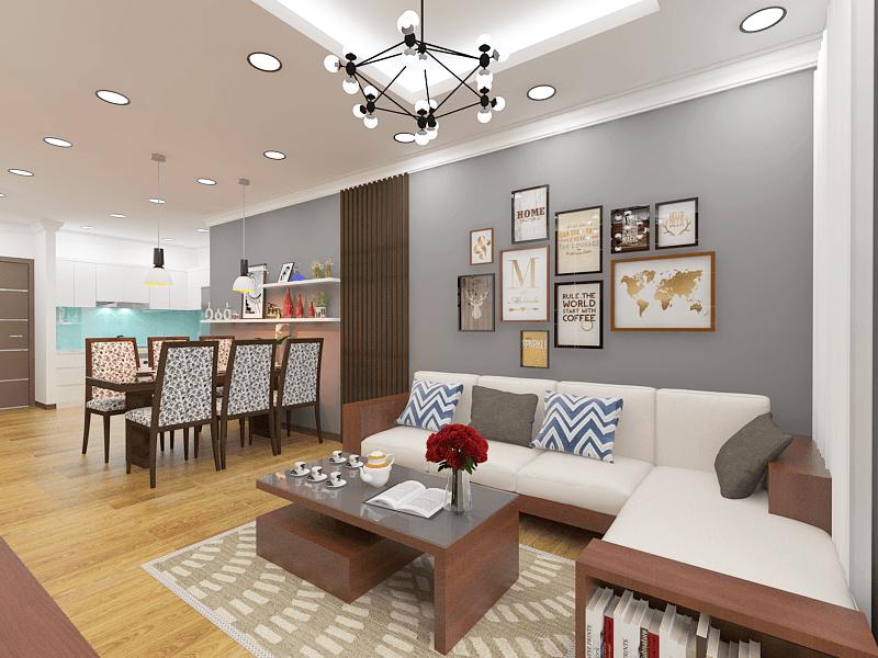 Dự án thiết kế nội thất căn hộ chung cư Iris Garden Tower – Mỹ Đình