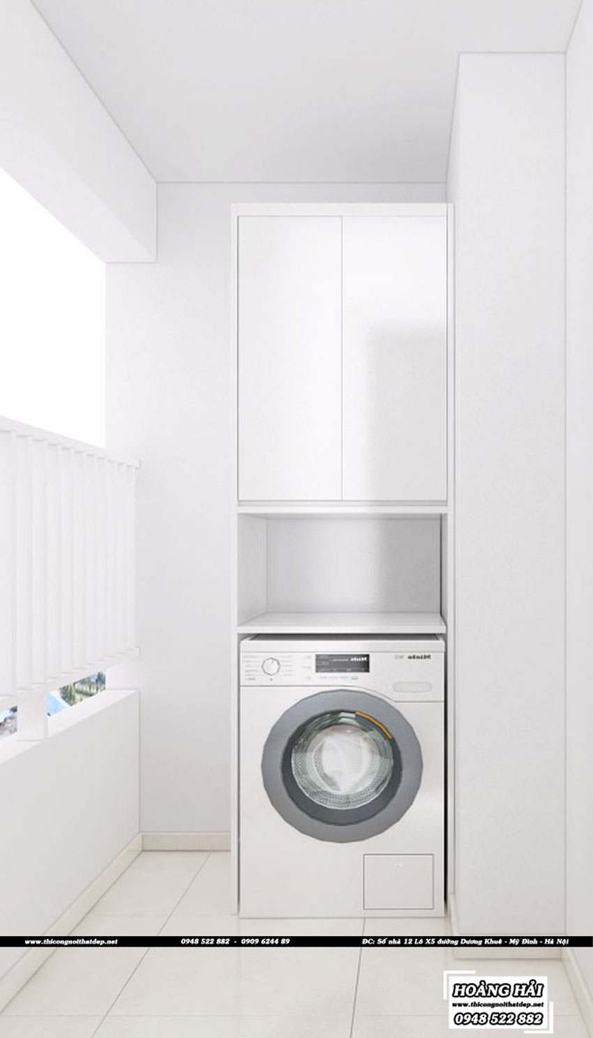 Dự án thiết kế nội thất phòng vệ sinh chung cư CityHome 66m2