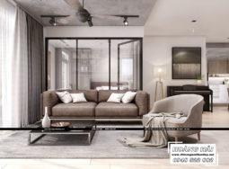 Dự án thiết kế nội thất chung cư Sunrise Riverside 130M2