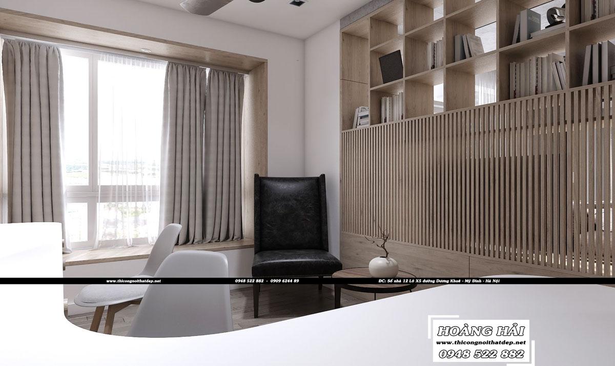 Dự án thiết kế nội thất phòng khách chung cư Sunrise Riverside 130M2
