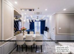 Dự án thiết kế nội thất căn hộ chung cư Wilton Tower 92m2 – Anh Bình