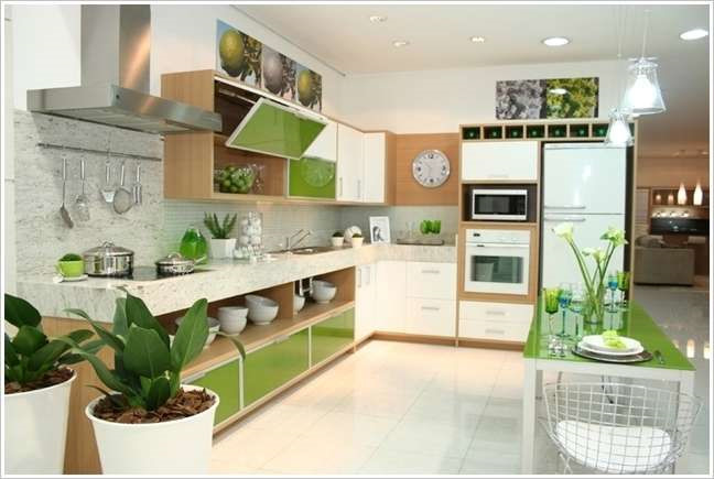 Mẫu nội thất nhà bếp chung cưSunshine Avenue