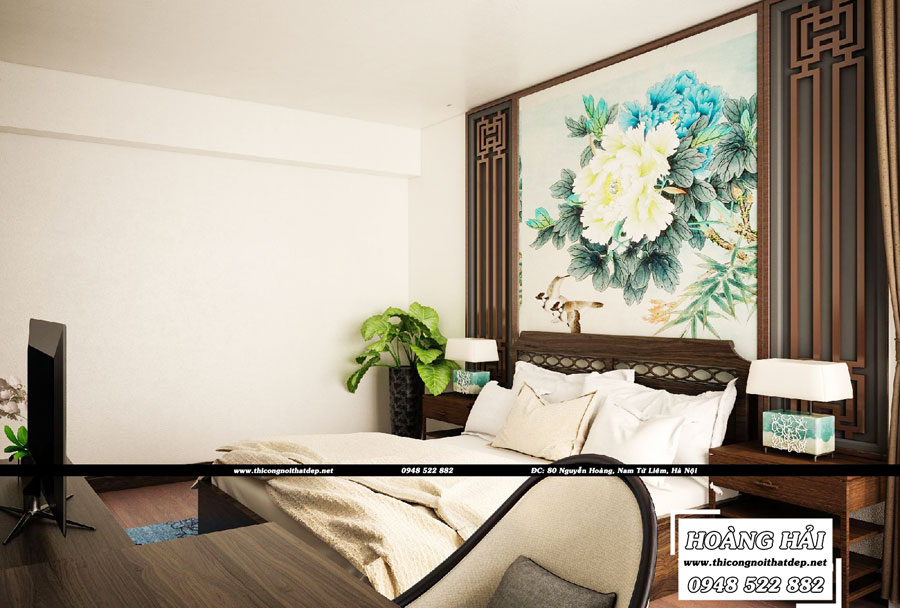 Phòng ngủ chung cư Vista Verde 90m2