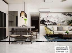 Mẫu dự án thiết kế nội thất chung cư 90m2 – Vista Verde