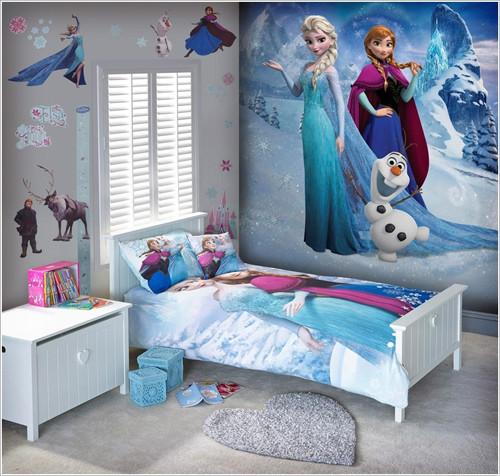 Nội thất phòng ngủ trẻ em phong cách cổ tích