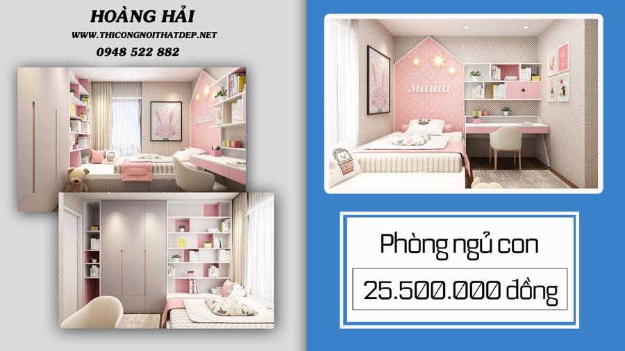 Phòng ngủ dành cho trẻ