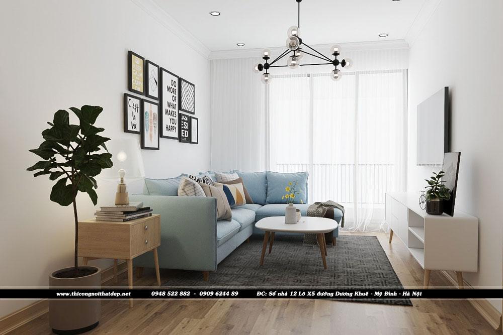 Dự án thiết kế nội thất căn hộ chung cư Goldseason 47 Nguyễn Tuân – Anh Thái