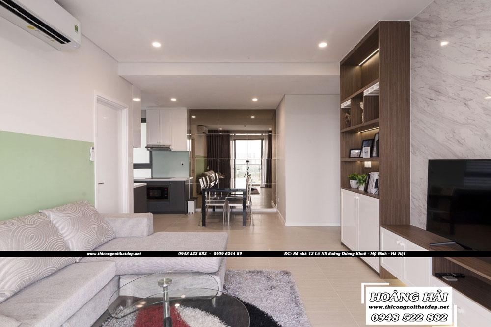 Dự án thiết kế nội thất chung cư Diamond Island 137m2 – Anh Hiếu